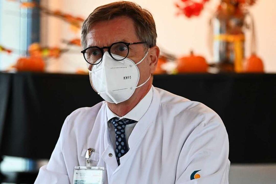 Chefarzt Hans H. Oesterhus  | Foto: Jonas Hirt