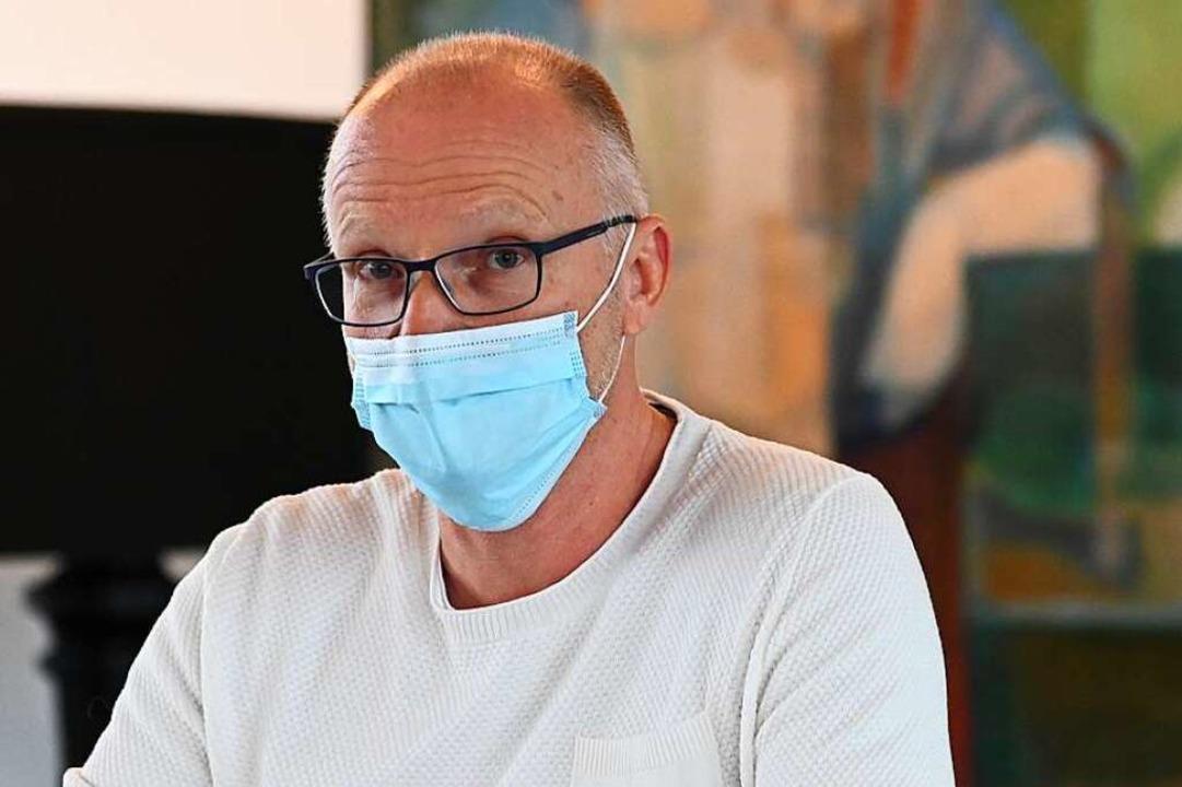 Geschäftsführer Medizin  Bernhard Hoch  | Foto: Jonas Hirt