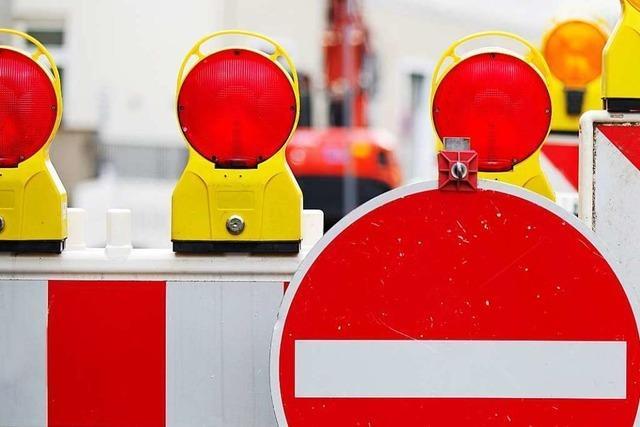 A 98 bleibt bei Lörrach bis Mitte Oktober einseitig gesperrt