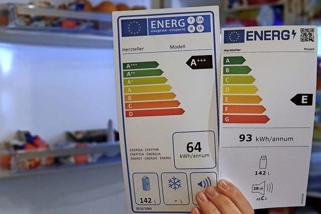 Verwirrende Energielabel