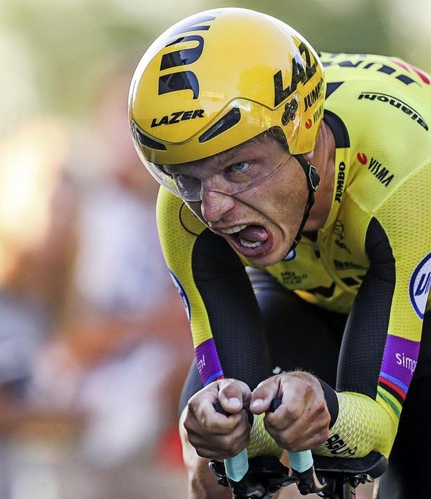 Tony Martin im vergangenen Jahr bei der deutschen Meisterschaft  | Foto: Jan Woitas (dpa)