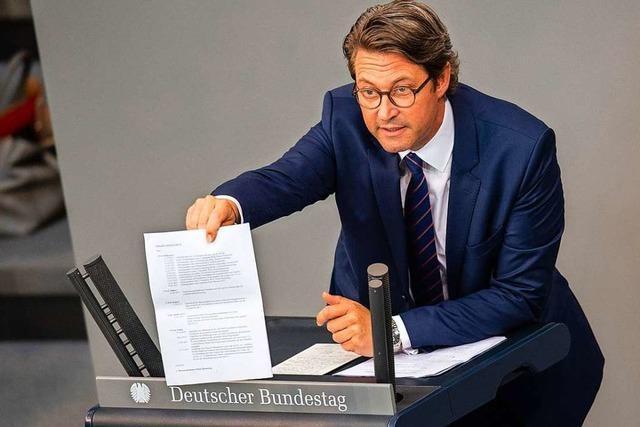 Schwere Vorwürfe gegen Verkehrsminister Scheuer