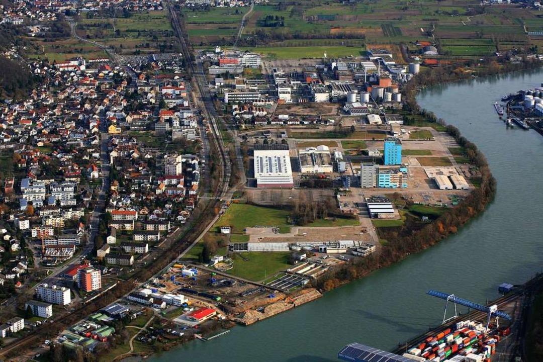 Industriegebiet in Grenzach-Wyhlen  | Foto: Erich Meyer