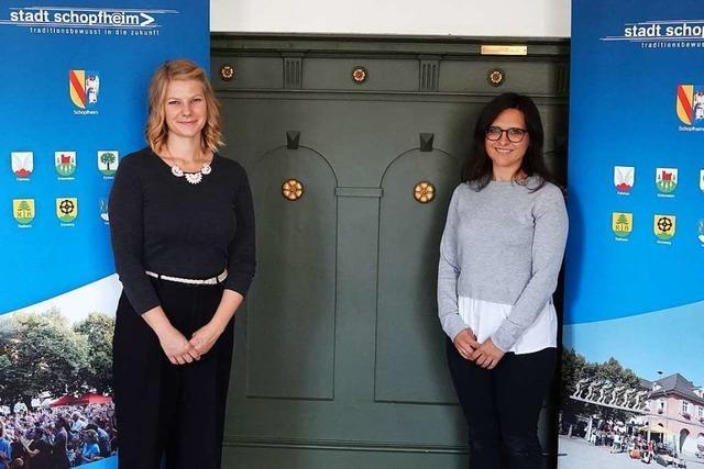 Das sind die beiden neuen Schulsozialarbeiterinnen in Schopfheim