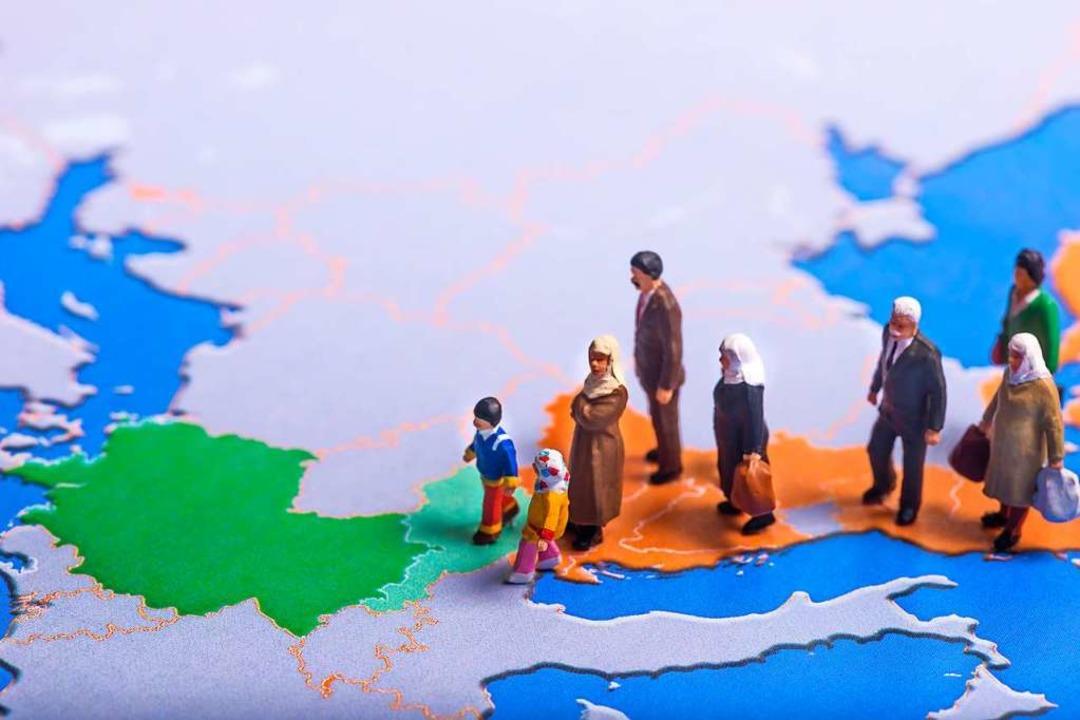 Viele der Geflüchteten kamen zu Fuß über die Balkanroute.  | Foto: Uwe Bumann (stock.adobe.com)