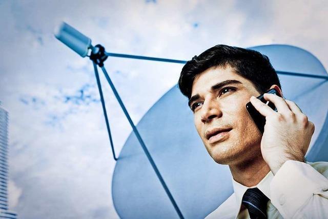 Telefonieren über Satellit, weil die Telekom den Anschluss kappt