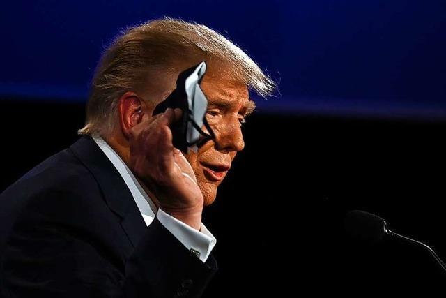 Der infizierte Präsident: Trump positiv auf Sars-CoV-2 getestet