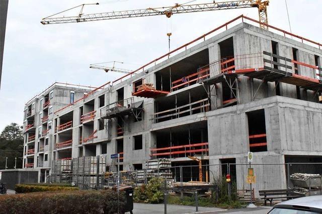 Neubau des Lerchenhofs in Lörrach liegt im Zeitplan