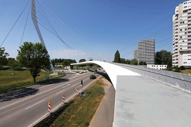 Die Ortenau-Brücke in Lahr wird schon wieder gesperrt