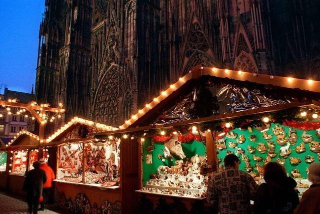 Straßburger Weihnachtsmarkt soll im Pandemie-Winter stattfinden – mit Glühwein