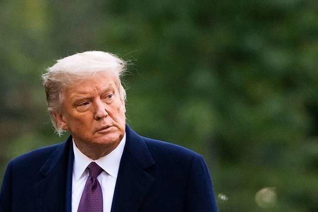Die Folgen von Trumps Corona-Infektion sind noch unabsehbar
