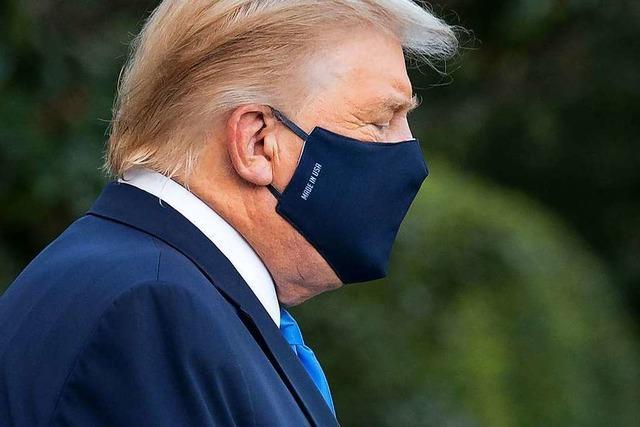 US-Präsident Trump im Hospital – Schwere der Erkrankung ist unklar