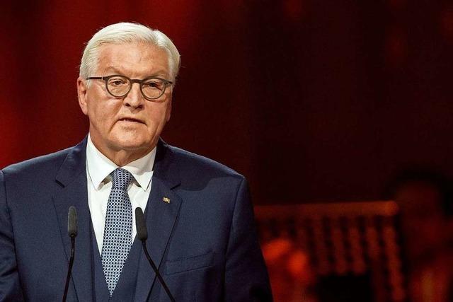 Bundespräsident Steinmeier zu 30 Jahre Deutsche Einheit: