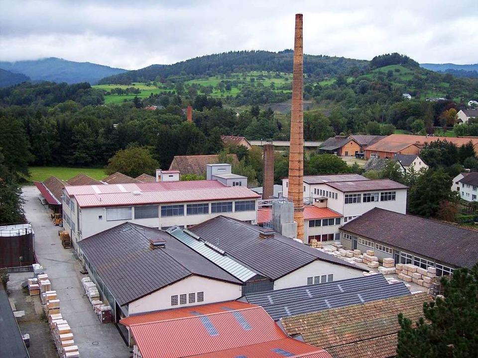 Blick auf das Betriebsgelände von Kandern Feuerfest  | Foto: die Kandern Feuerfest GmbH