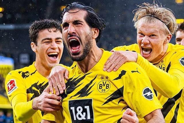 Borussia Dortmund schlägt den SC Freiburg mit 4:0