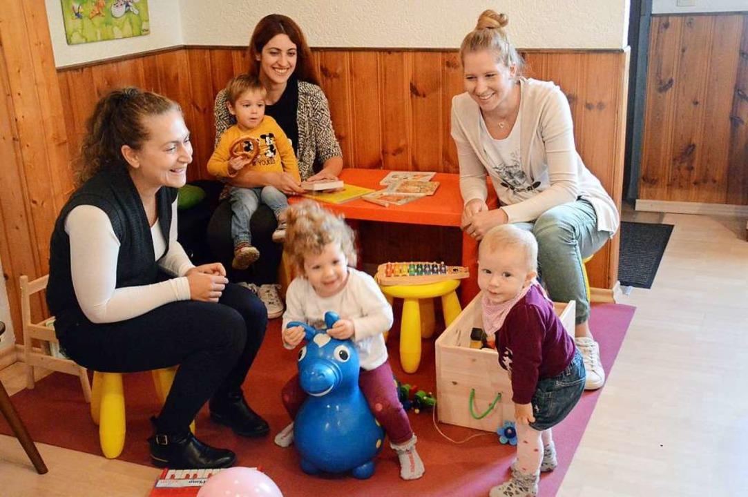 Erstmals seit langer Zeit gab es im AWO-Stüble wieder ein Kinder-Café.  | Foto: Edgar Steinfelder