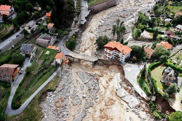 Vermisste Deutsche nach Unwetter in Italien und Frankreich wiedergefunden
