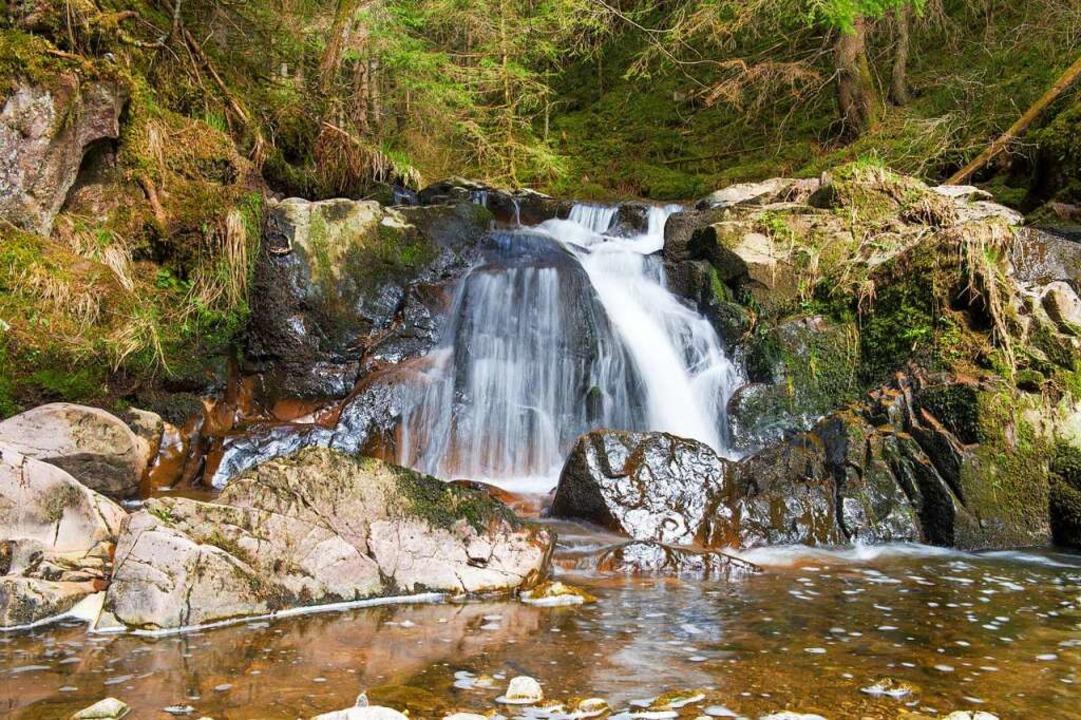 Wasserfall in der Schlucht  | Foto: Andrea Schiffner