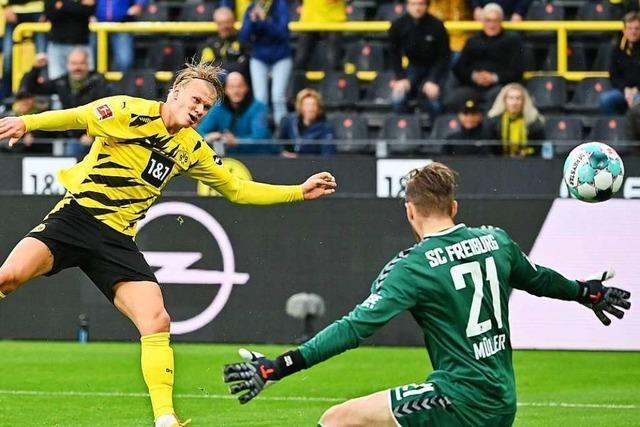 SC Freiburg erlaubt sich im Spiel gegen Dortmund zu viele Fehler