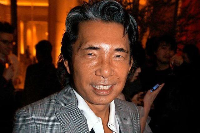 Modemacher Kenzo Takada nach Corona-Infektion gestorben