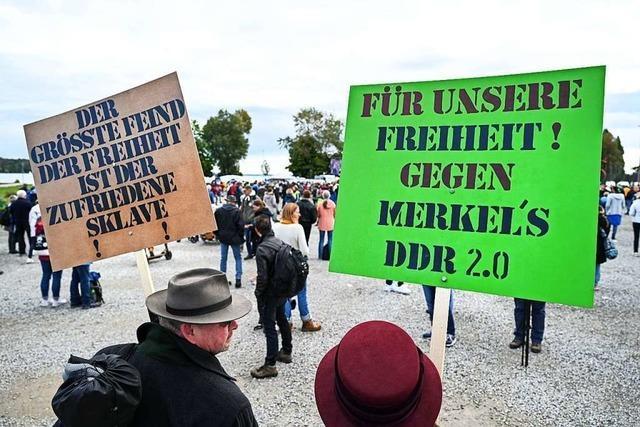 Demo-Wochenende am Bodensee bleibt größtenteils friedlich