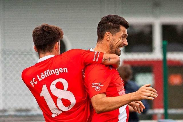 Simon Weißenberger und Benjamin Gaudig schießen FC Löffingen zum Sieg