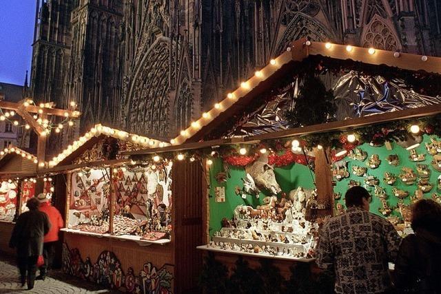 Ein Weihnachtsmarkt mit viel Distanz – und Glühwein