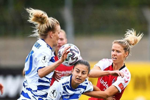 SC-Frauen treffen beim 0:0 gegen Duisburg zweimal Aluminium