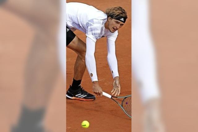 Aus für Zverev bei den French Open