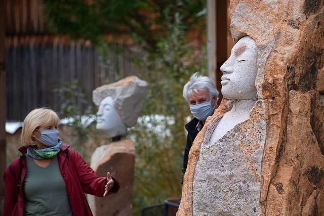 Ateliertage in Sulzburg finden großen Zuspruch – trotz Corona-Auflagen