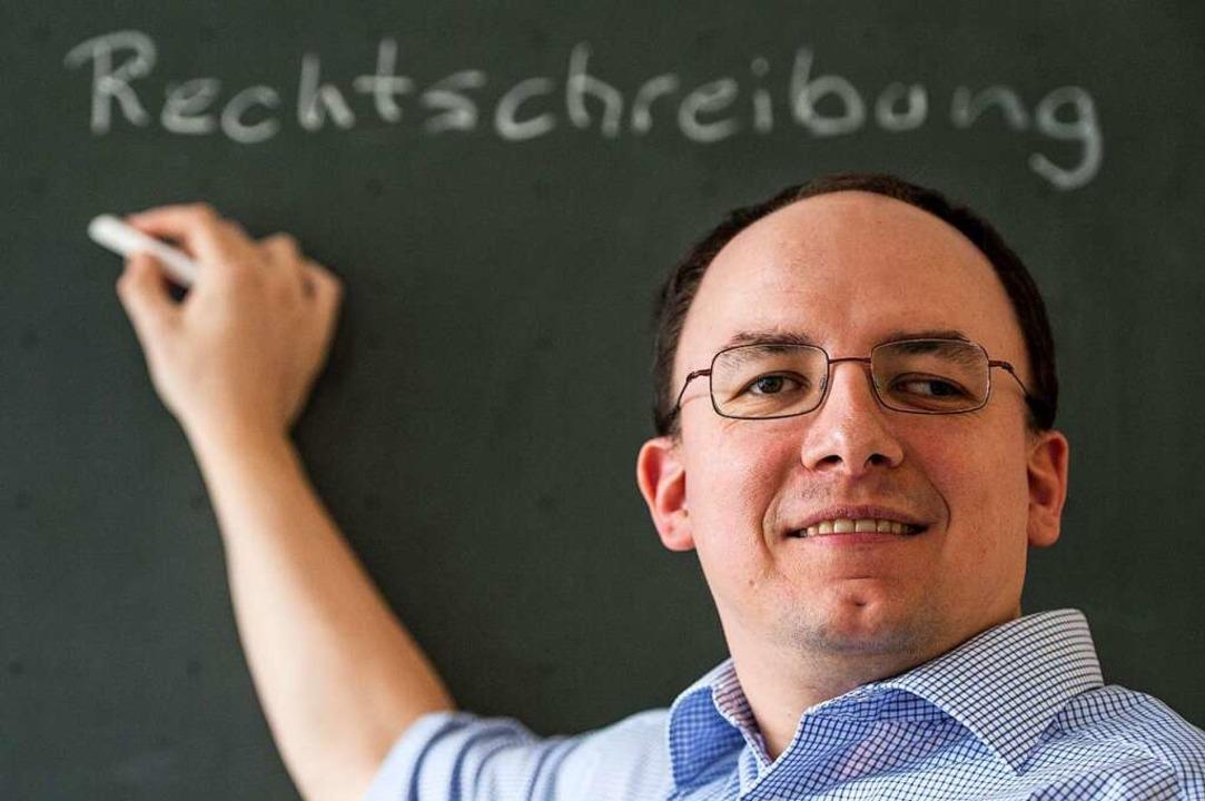 Deutsche Sprache,  schwere Sprache: Lu... den Vorläufer des Duden zu schreiben.    Foto: dpa
