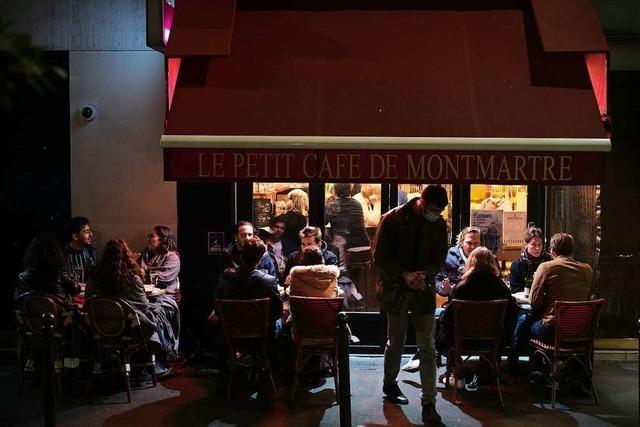 Paris macht im Kampf gegen Corona Bars und Cafés dicht