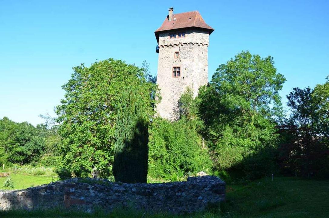 Der Burgturm  | Foto: Ulrike Ott