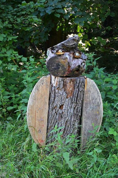 Kunst aus Holz  | Foto: Ulrike Ott