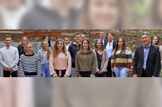 Startschuss für Ergotherapie-Studium in Bad Säckingen