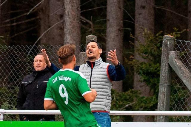 Björn Schlageter empfindet 2:2 gegen DJK Villingen als gefühlte Niederlage