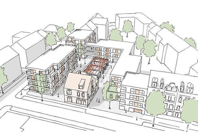 So soll das neue Wohnquartier auf dem Gelände der Offenburger Herdfabrik aussehen
