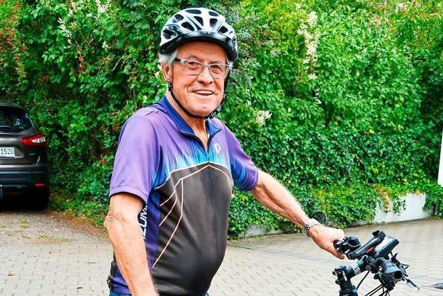 84-jähriger Kirchzartener radelt in 21 Tagen mit seinem E-Bike fast 2000 Kilometer