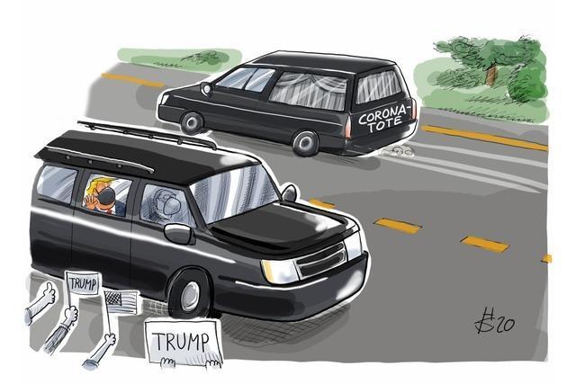 Zufällige Begegnung bei der Präsidenten-Spritztour