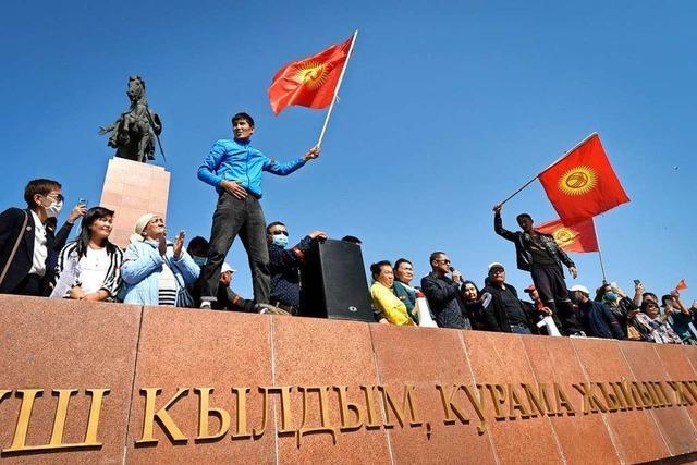 Kirgisischer Ex-Präsident von seinen Anhängern aus dem Gefängnis befreit