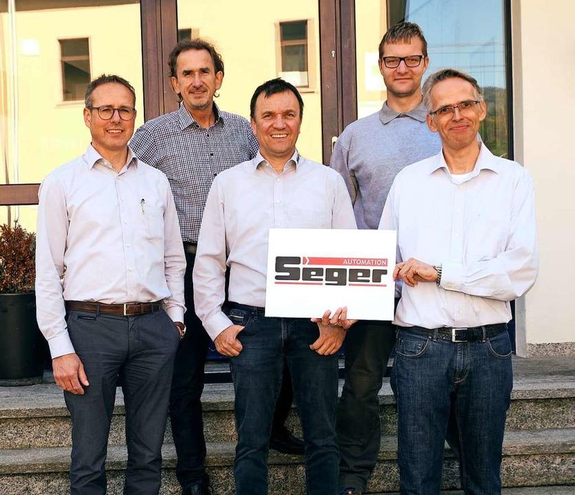 Freuen sich auf einen guten Start der ...no Seger, Georg Neu  und  Marco Dietz.  | Foto: Karl-Heinz Rümmele