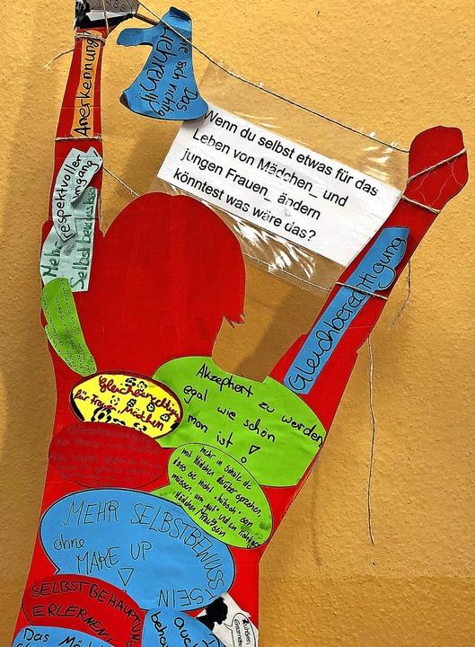 Was Mädchen sich wünschen – aus einer Aktion des Vereins Tritta*.  | Foto: Sonja Zellmann