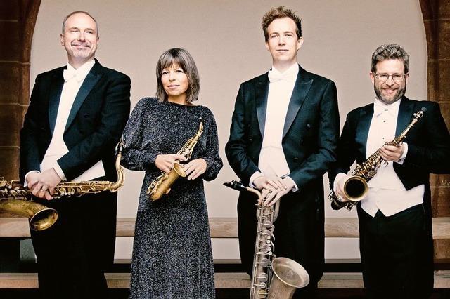 Raschèr Saxophone Quartet im Lörracher Burghof