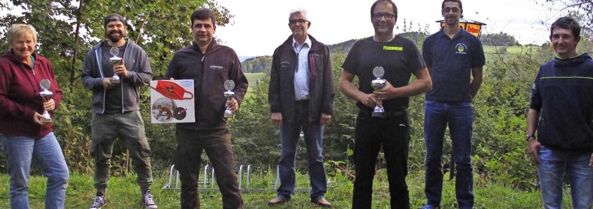 <BZ-FotoAnlauf>Schützen Adelsberg:</BZ...chte wieder zahlreiche Sieger hervor.   | Foto: Schützenverein