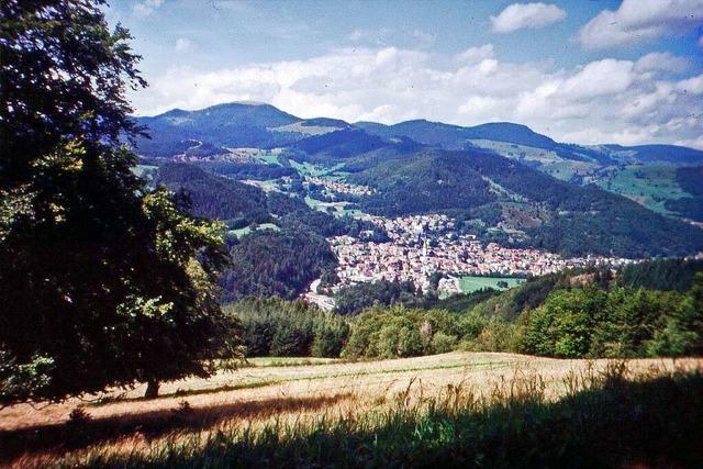 Der Hochgescheid ist ein unbekannter Berg des Schwarzwalds
