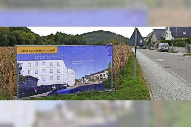 Banner vom Grundstück verbannt