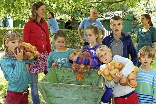 Apfelfest im Ettenheimer Prinzengarten