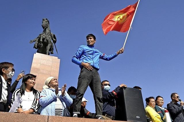 Kirgisistan revoltiert