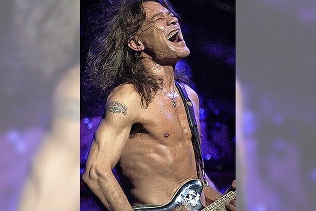 Rock-Gitarrist Van Halen tot