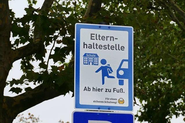 Elternhaltestellen sollen in Weil am Rhein Elterntaxis ausbremsen